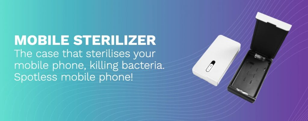 Smart Phone Sanitizer